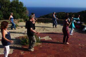 Danse et pique-nique dans la nature @ La Ciotat, massif des calanques